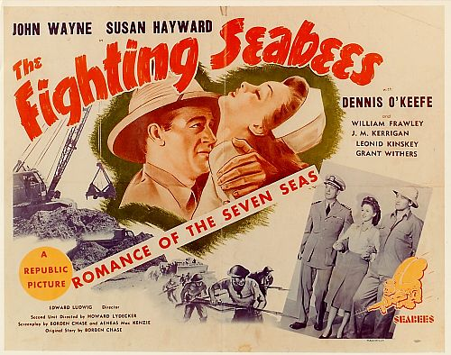 The Fighting Seabees John Wayne WWII movie