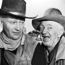 Red River with John Wayne Walter Brennan