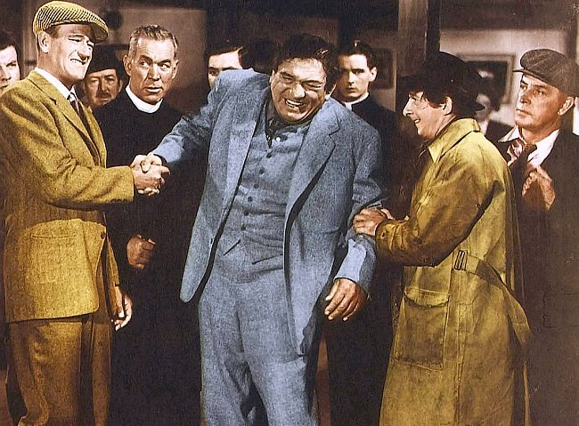 John Wayne, Victor Mclaglen & Ward Bond in The Quiet Man