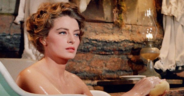 Capucine in a tub in North To Alaska