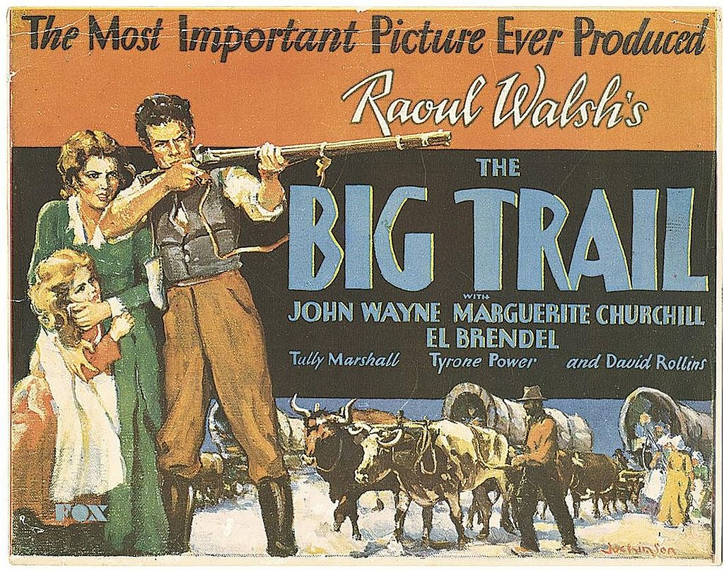 John Wayne in The Big Trail
