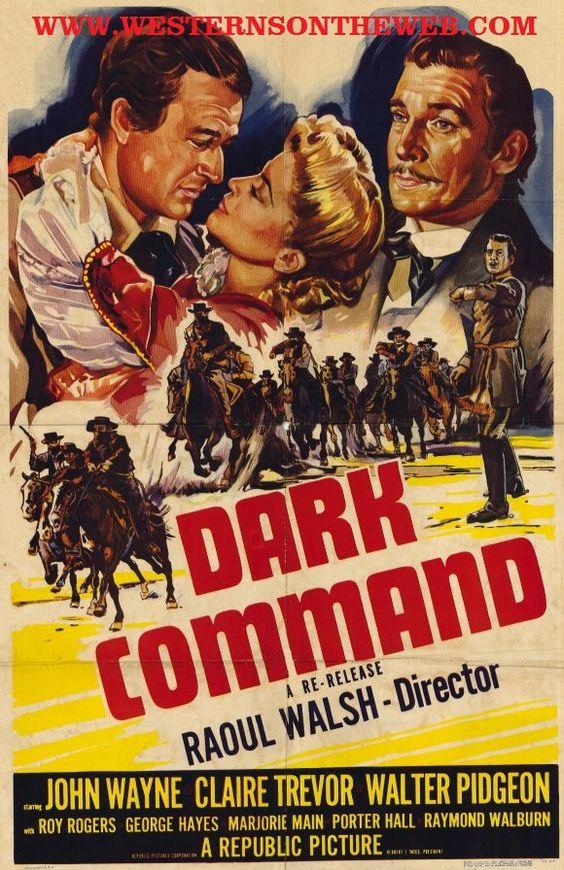 John Wayne in Dark Command
