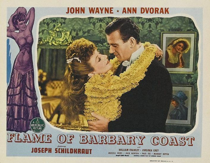 Flame of the Barbary Coast with John Wayne