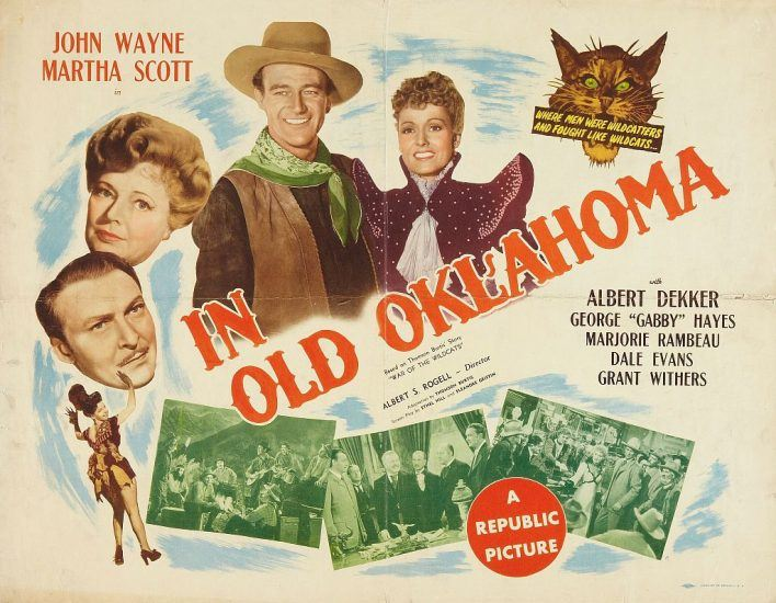 Poster of In Old Oklahoma with John Wayne