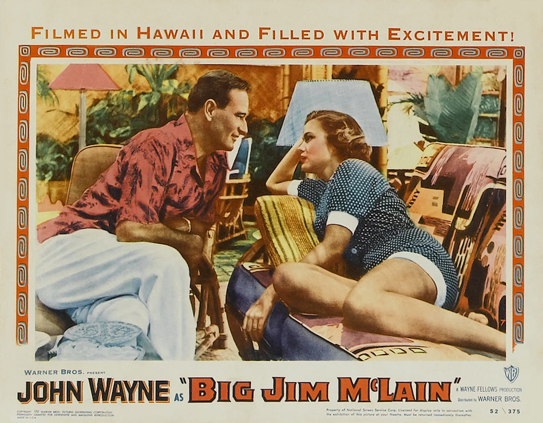 John wayne in Big Jim McLain lobby card