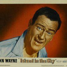 John Wayne in Island in the Sky lobby card