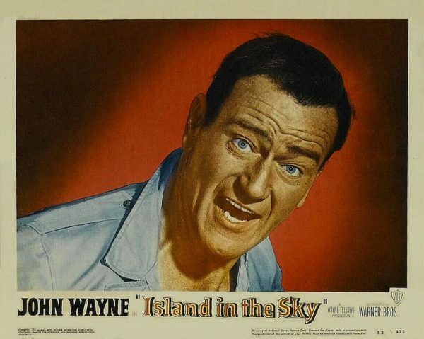 John Wayne in Island in the Sky lobby card