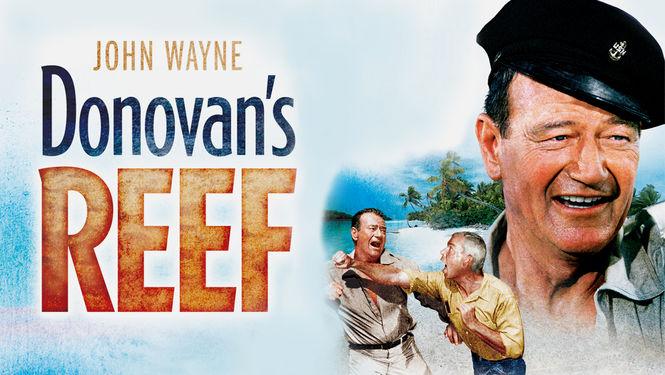 Donovans Reef poster with John Wayne