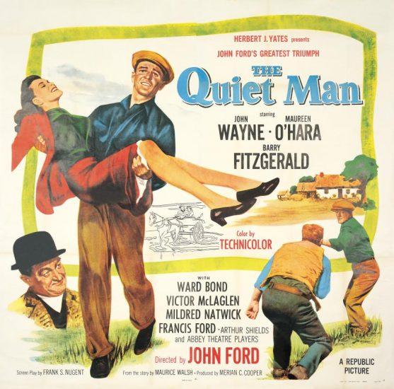 John Wayne as The Quiet Man poster