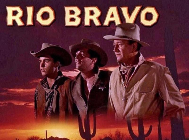 Rio Bravo with John Wayne Dean Martin poster
