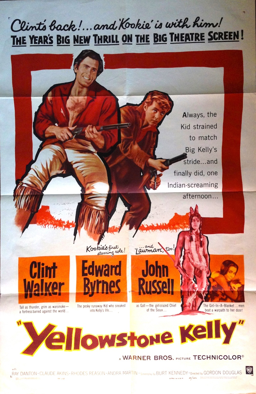 Poster of Yellowstone Kelly with Clint Walker