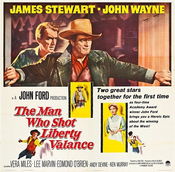 Man Who Shot Liberty Valance poster