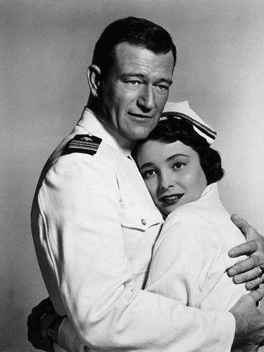 Patricia Neal & John Wayne image in