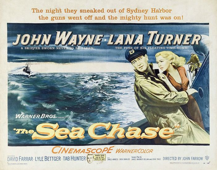 The Sea Chase movie poster