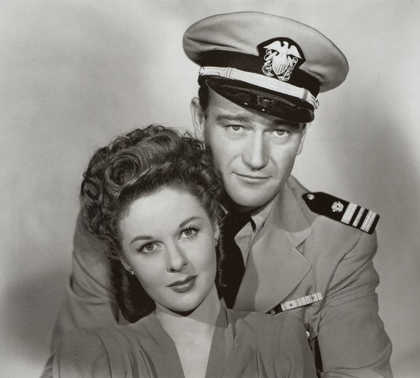 Susan Hayward with John Wayne