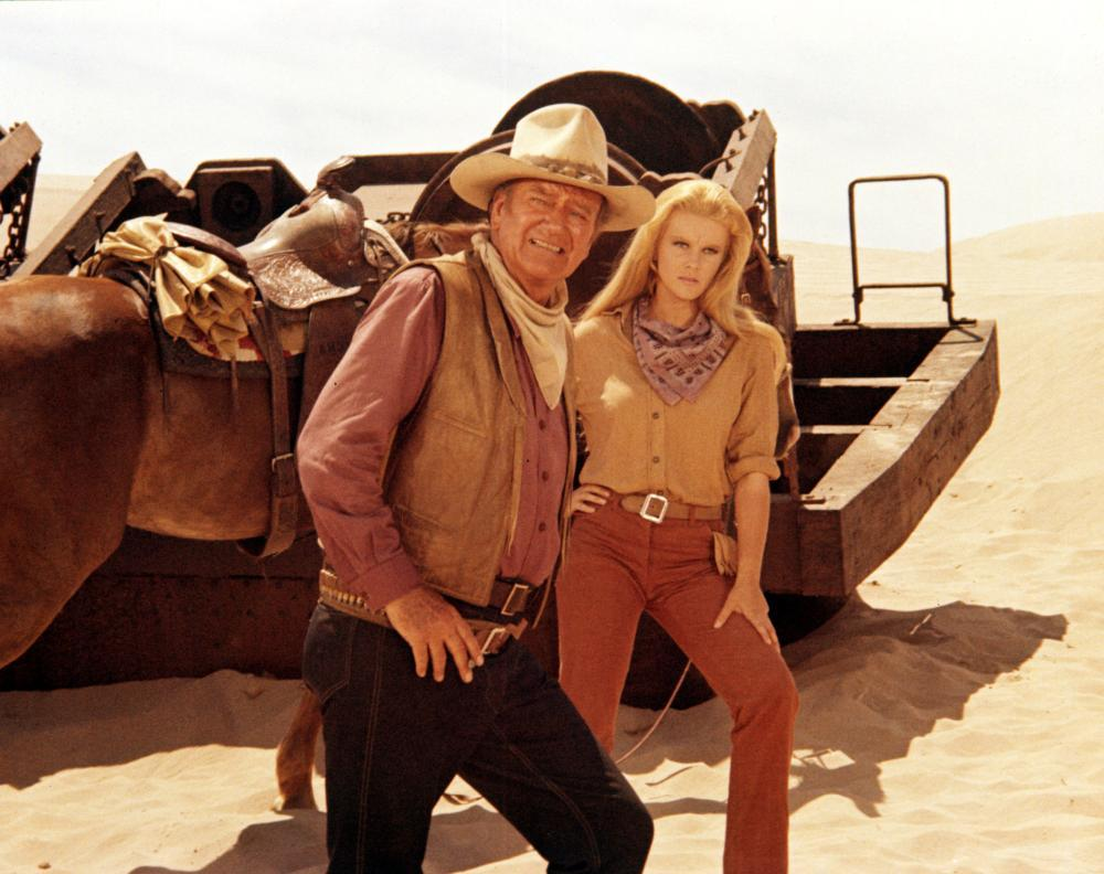 Ann-Margret and one of my favourite John Wayne quotes