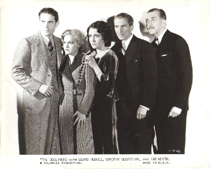 Lobby card featuring The Deceiver movie.