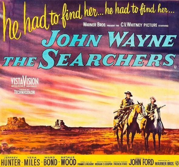 The Searchers - A John Wayne Western poster