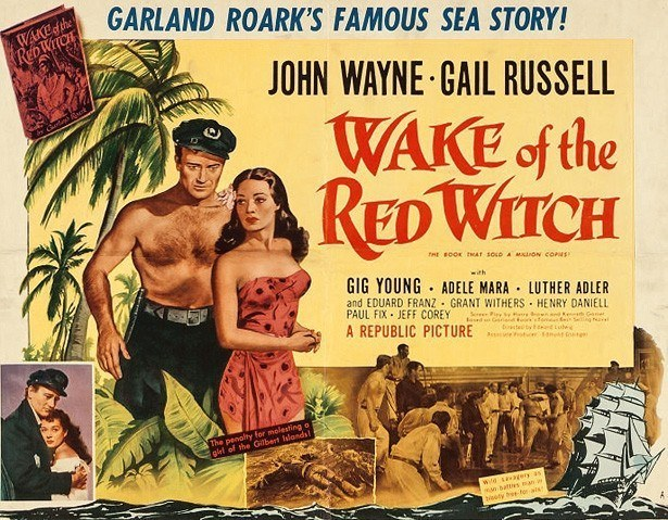 wake of the red witch poster John Wayne Gail Russell