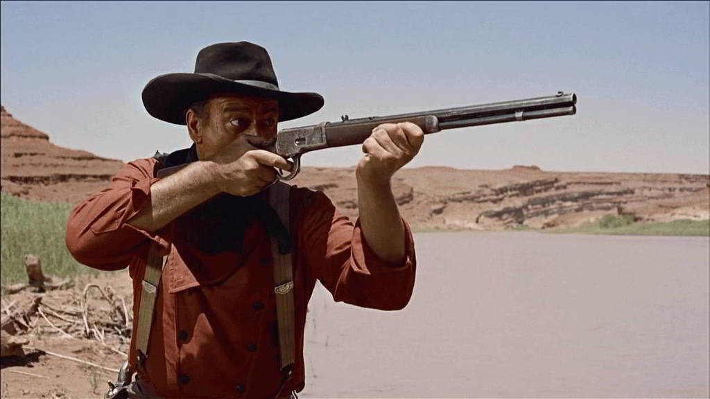 John Wayne & the winchester92
