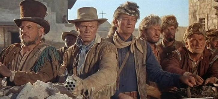 The Alamo scene John Wayne