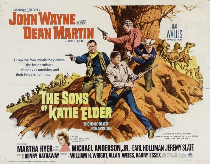 Sons of Katie Elder poster image