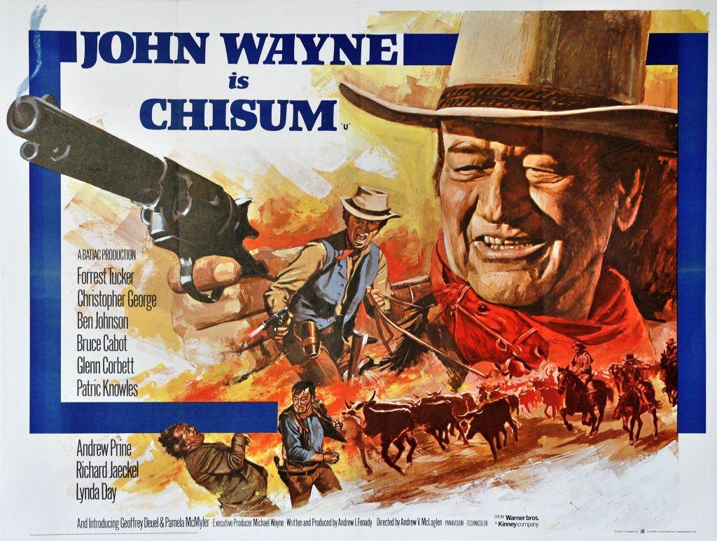 Chisum John Wayne poster