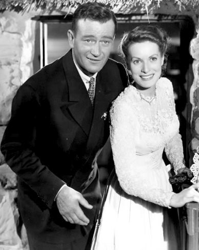 John Wayne & Maureen O'Hara from The Quiet Man