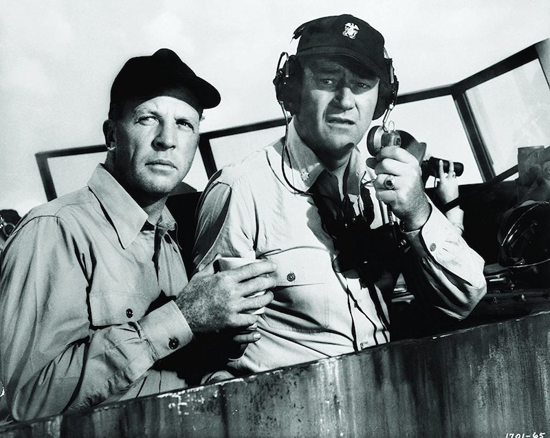 Dan Dailey & John Wayne from The Wings of Eagles