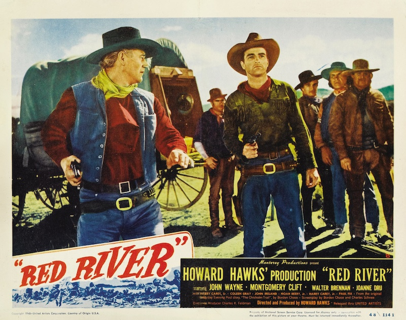 Montgomery Clift in Red River