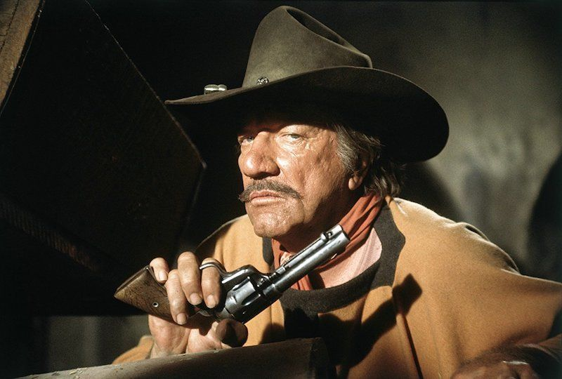 Richard Boone in Big Jake