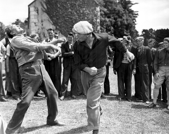 THE QUIET MAN - with John Wayne