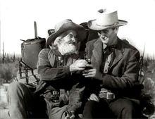 Gabby Hayes & John Wayne