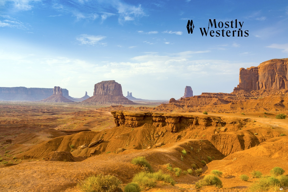 Mostly Westerns cover Monument Valley