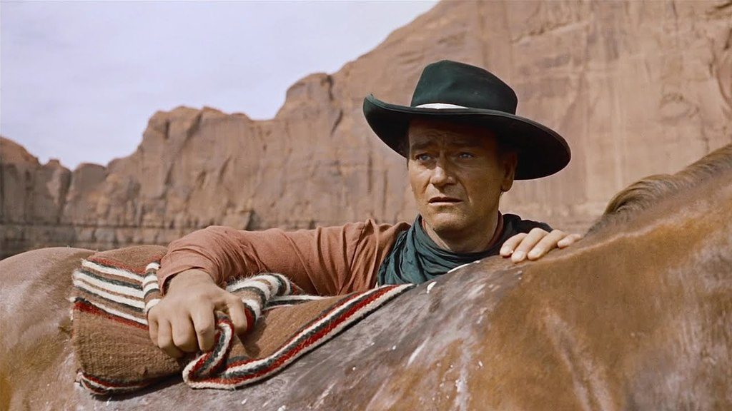 John Wayne in The Searchers