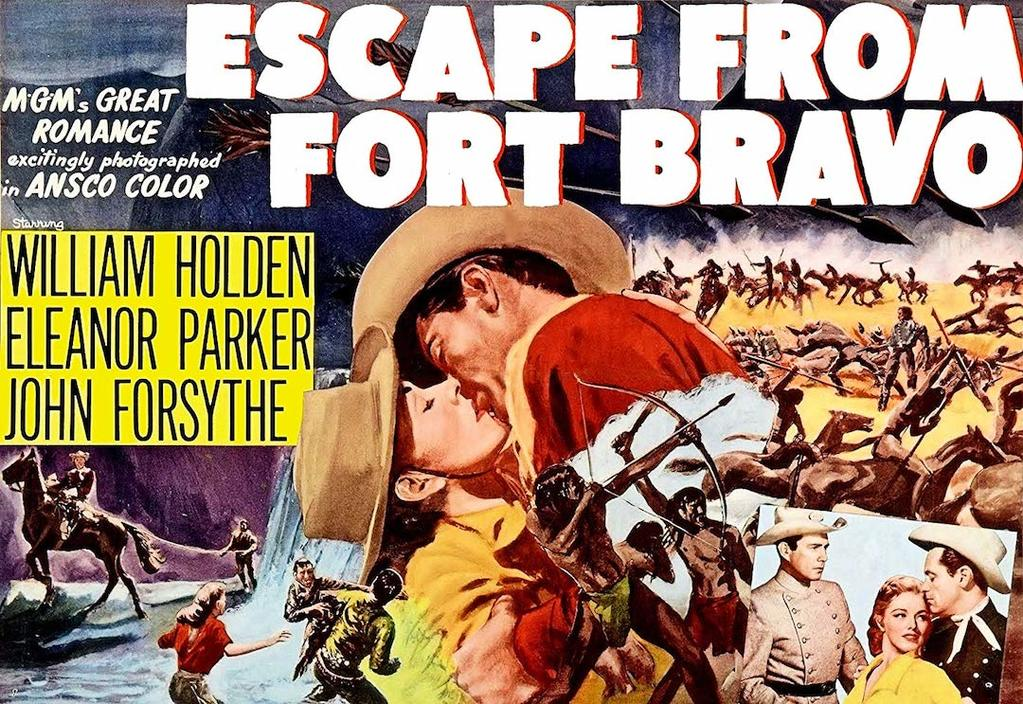Poster for Escape from fort bravo