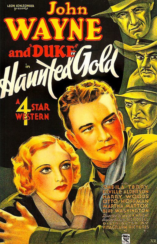 Poster of Haunted Gold 1932 John Wayne