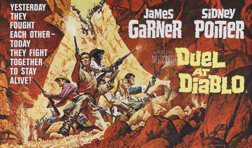 Duel at Diablo poster