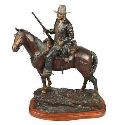 John Wayne sculture