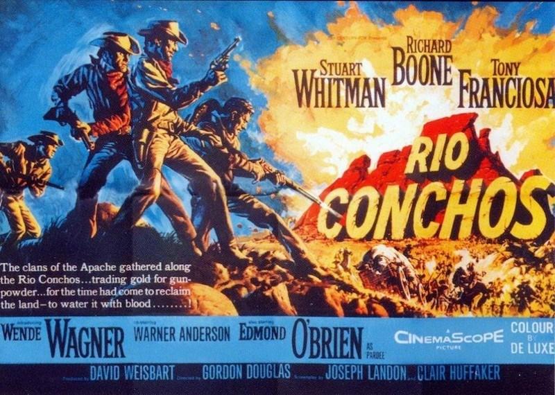 Rio Conchos poster