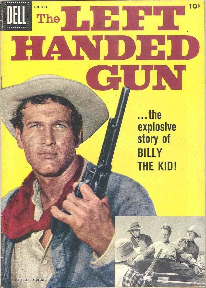 The Left Handed Gun with Paul Newman (comic)