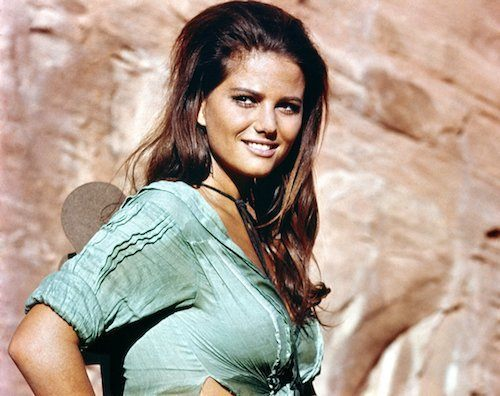 Picture of Claudia Cardinale in The Professionals