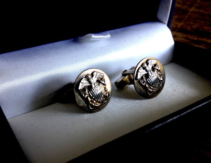 cuff links from the film In Harms Way