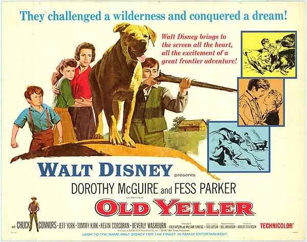 Old Yeller Walt Disney (poster)