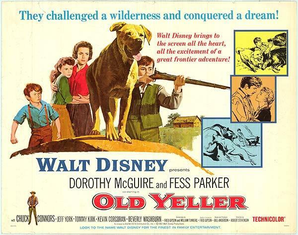 Old Yeller Walt Disney (poster)