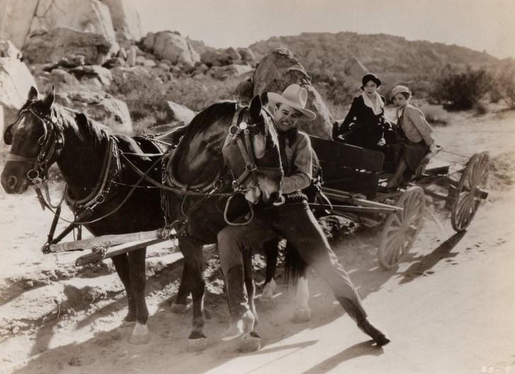 John Wayne in Somewhere in Sonora