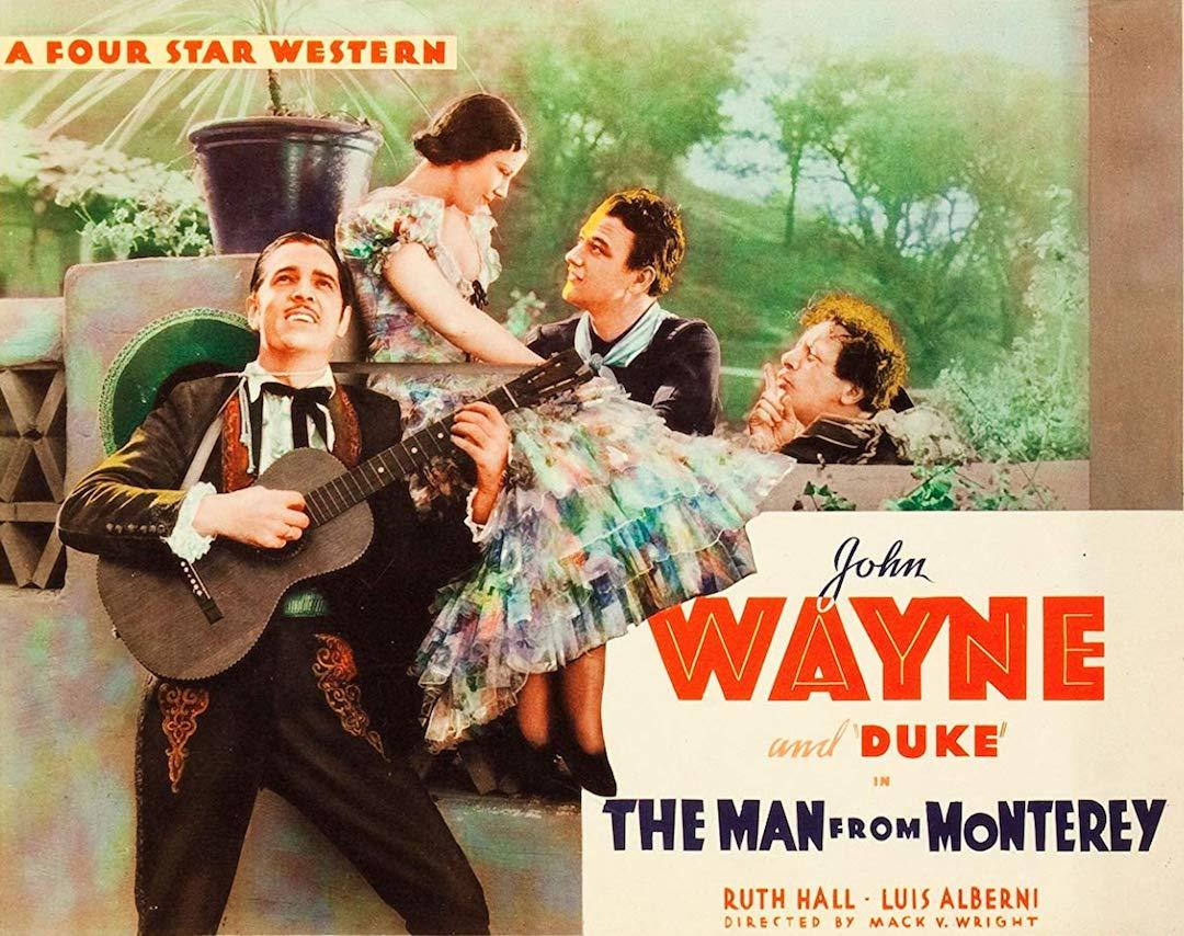 Lobby card for The Man From Monterey