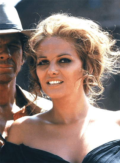 Claudia Cardinale from Once Upon a Time in the West