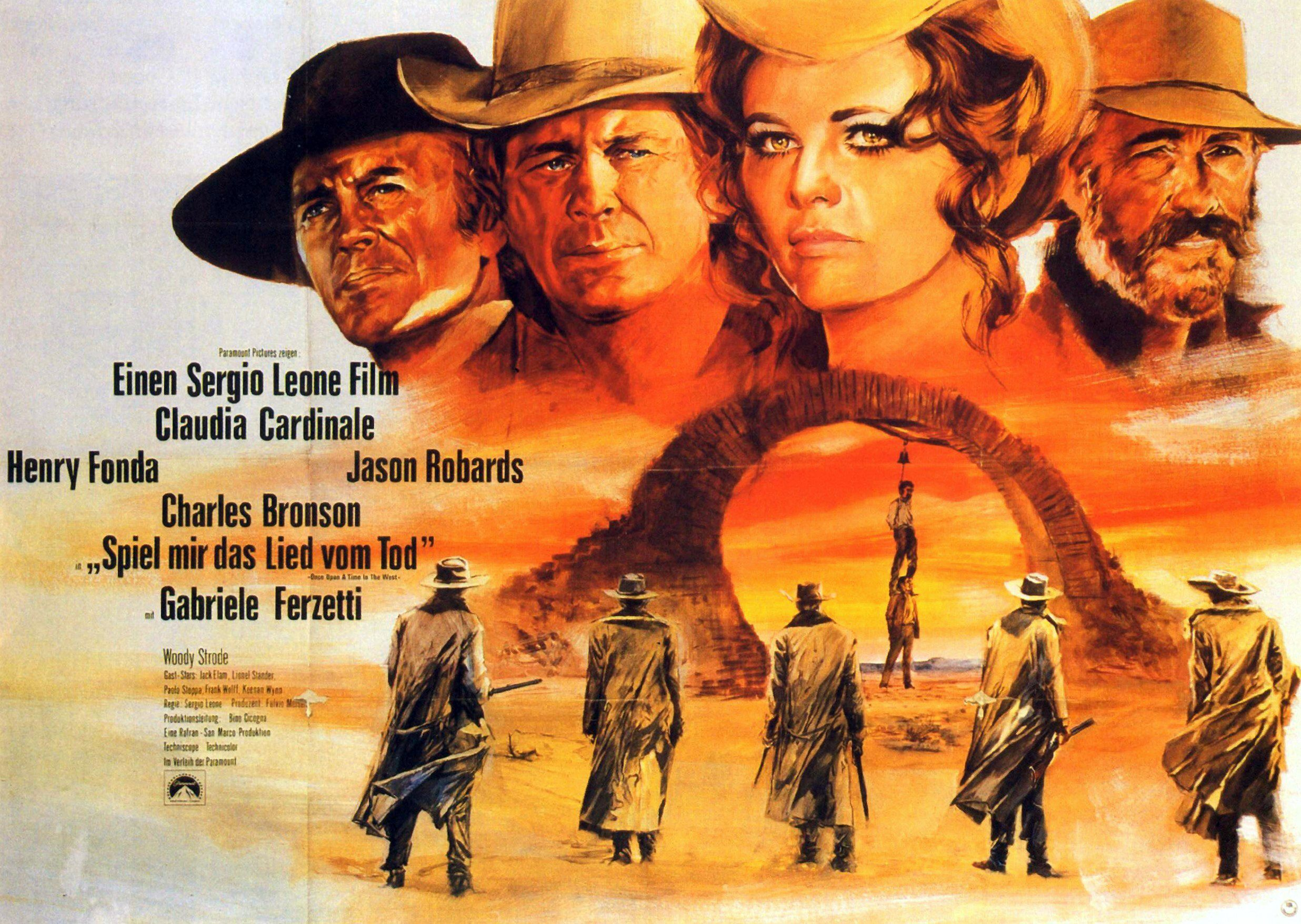 Once upon a time in the west poster image