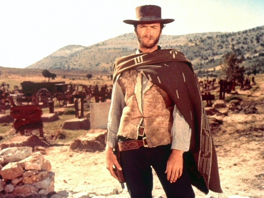 Clint Eastwood in A Fistfull of Dollars image